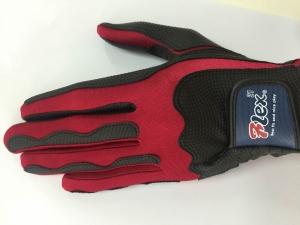 F21-BLR 日製素材手套黑/紅