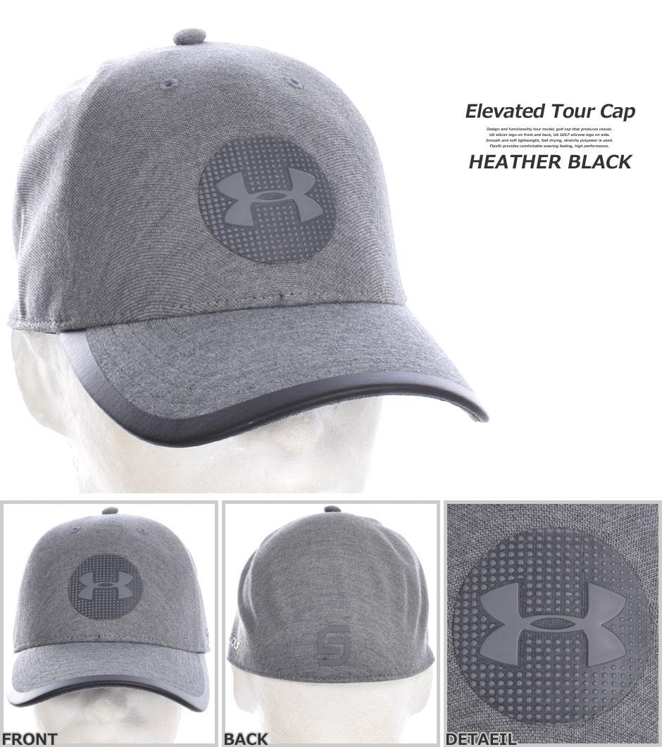 UA高爾夫球帽  灰