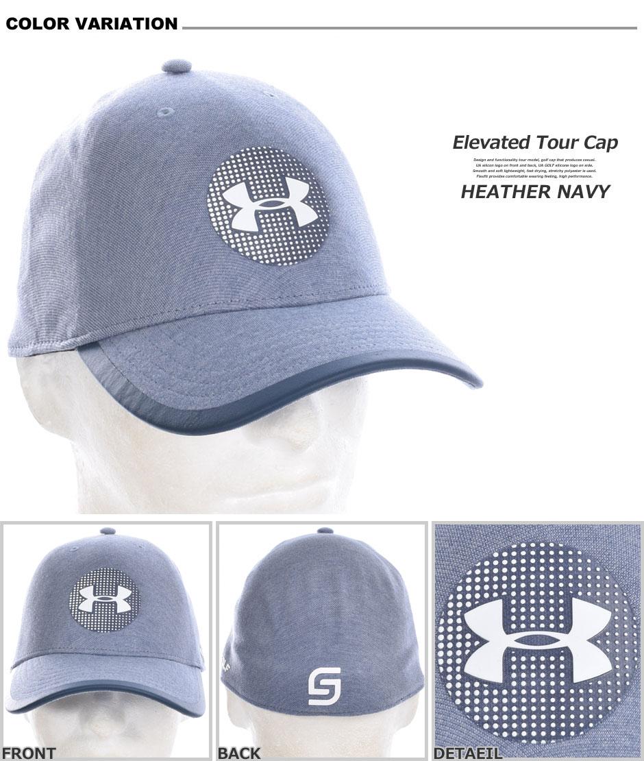 UA高爾夫球帽  藍