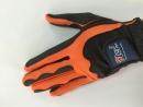 F21-BO 日製素材手套黑/橘