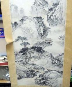 曹墨侣,(山水畫) ,水墨畫作品