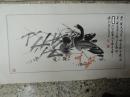 張文德,雁鳥, 設色水墨畫作品