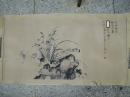 劉延濤,花卉,水墨畫作品