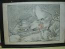 潘振鏞(光緒仕女圖),人物設色水墨畫作品