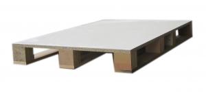 粒片板類(塑合板)PB(T型方塊型四向操作棧板)