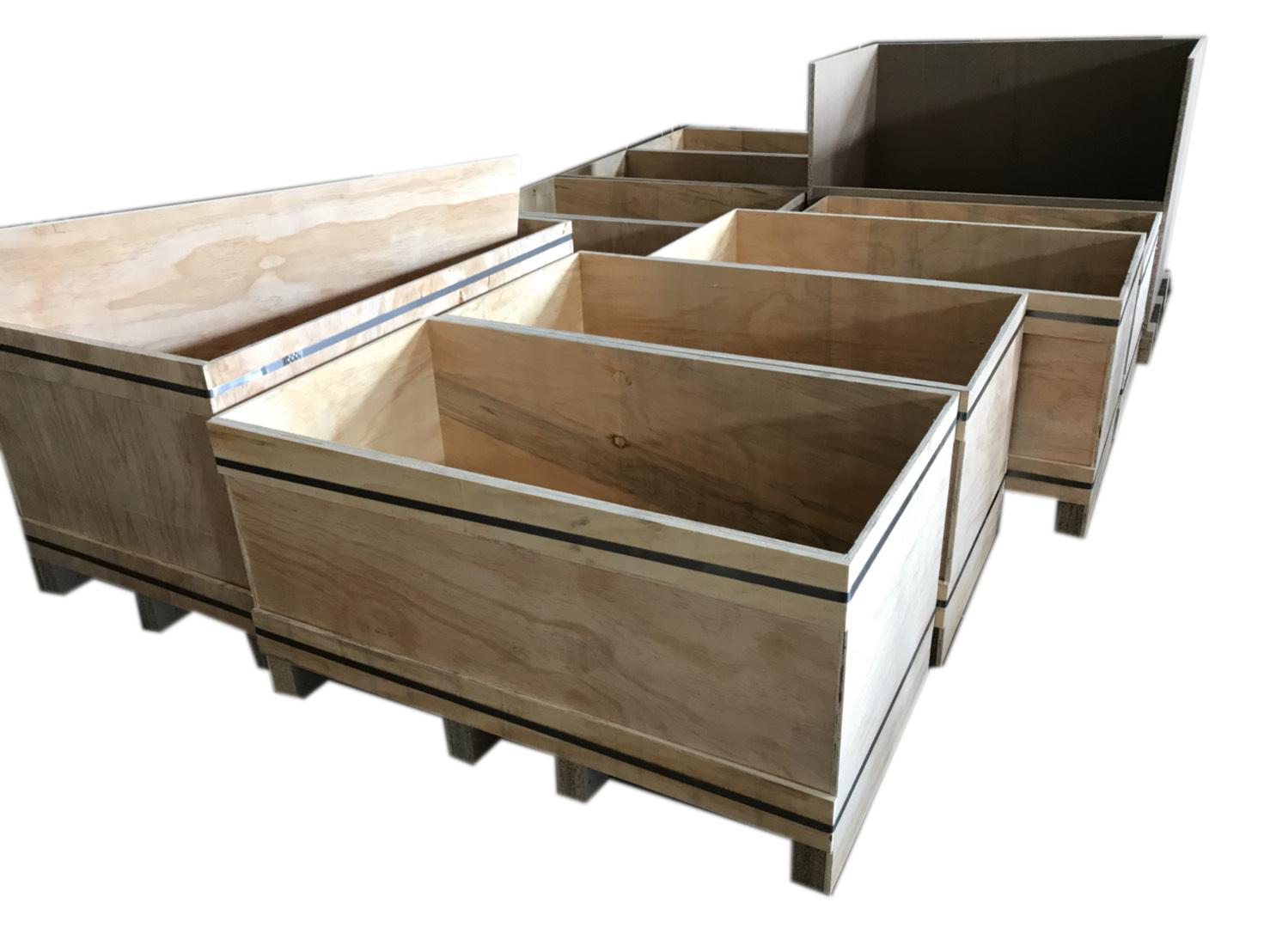 環保木箱,夾板木箱