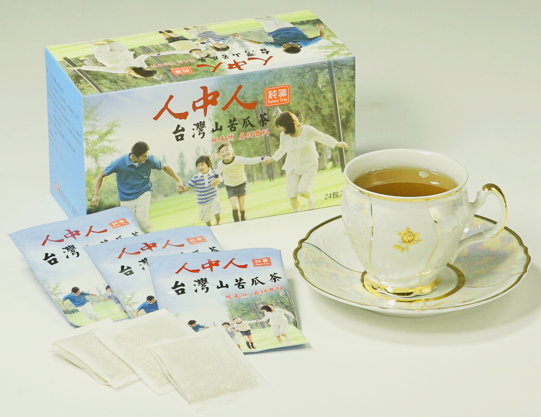 山苦瓜養生茶飲 / 盒裝 / 24入