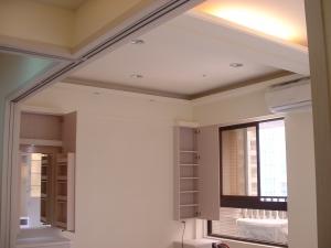 天花板特殊造型、冷氣管路拉管