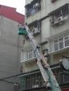 新北市遮雨棚更換,牆面漏水修補 (8)
