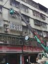 新北市遮雨棚更換,牆面漏水修補 (5)