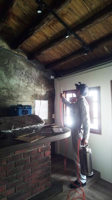 古蹟白蟻蛀蟲防治工程