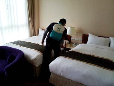 飯店消毒實例
