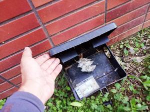 老鼠餌站安裝實例