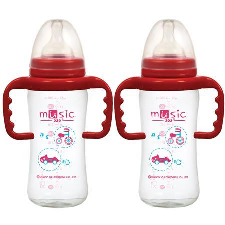 寬口把手奶瓶 360ml (12411)