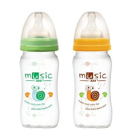 寬口奶瓶 240ml (13401)