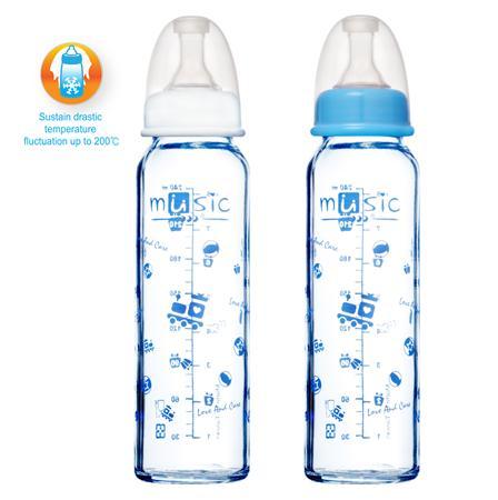 標準耐熱玻璃奶瓶 240ml (01101BG)