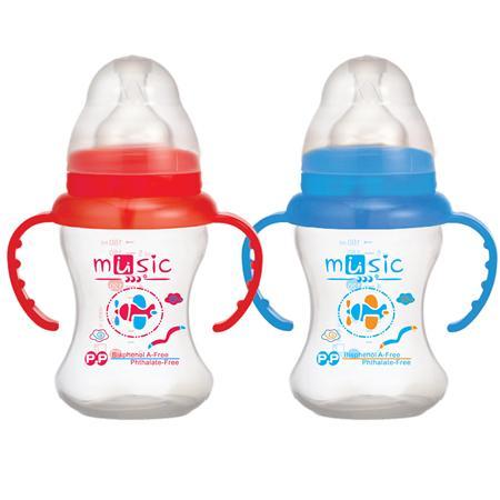 PP 寬口訓練奶瓶 160ml (09912)
