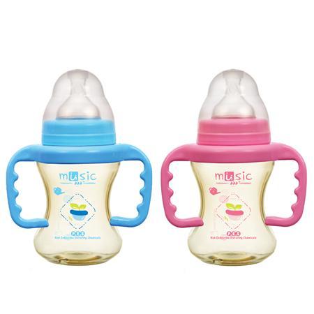 PES 寬口工學把手奶瓶 160ml (09831 )