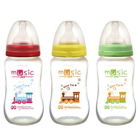 PP寬口奶瓶 300ml (08901)