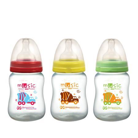 PP 寬口奶瓶 160ml (14901)