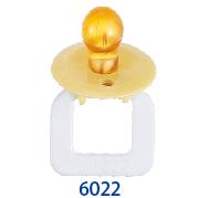 天然乳膠安撫奶嘴 (#6022)