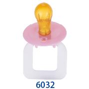 天然乳膠安撫奶嘴(#6032)