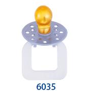 天然乳膠安撫奶嘴(#6037)6035