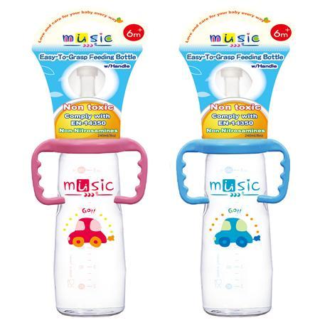 標準功學把手奶瓶 240ml (07421)