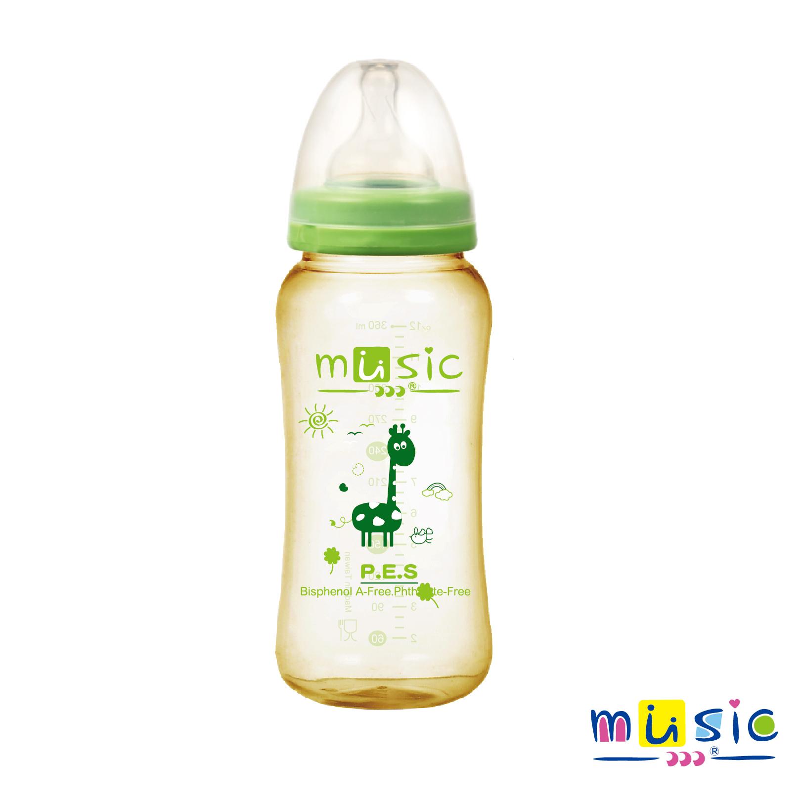 PES 寬口大容量奶瓶 360ml (12701)