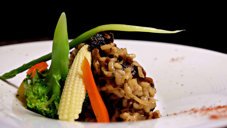 黑松露野菇燉飯 Mushroom Risotto with Truffle