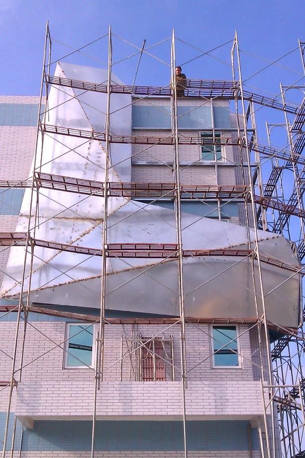 大型造型看板施工