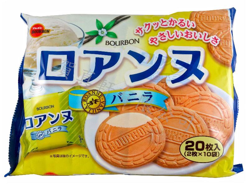 北日本20枚法蘭酥142g-香草 311057