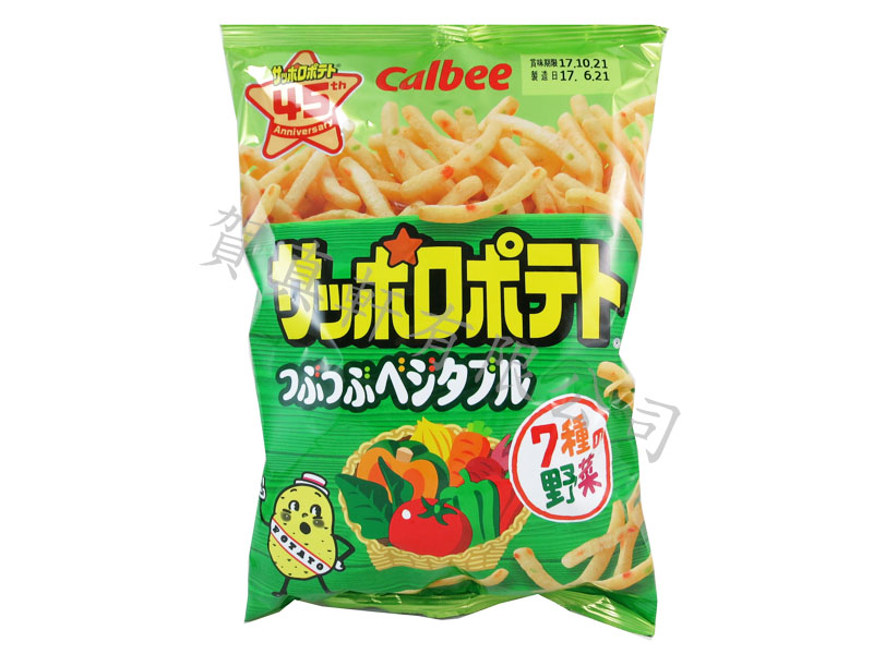 加樂比蔬菜薯條(太空包)85g 122089