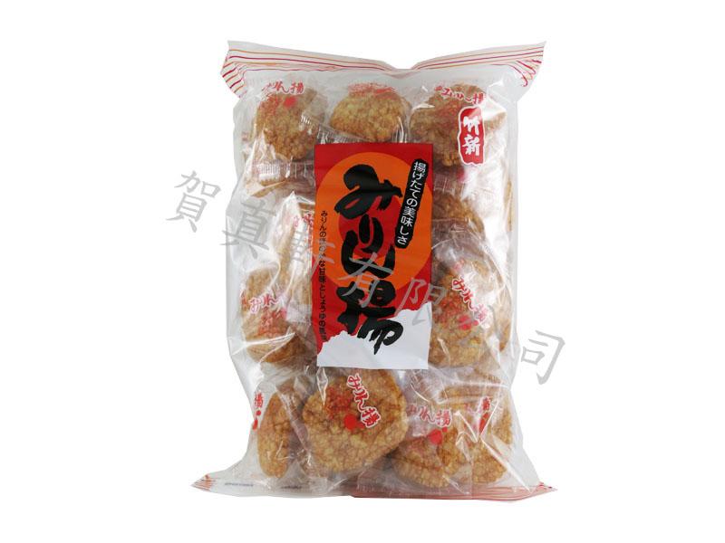 竹新醬油米果230g 501543