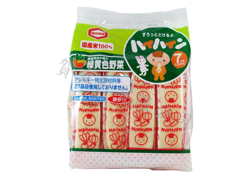 龜田嬰兒米果53g-野菜蘋果194980