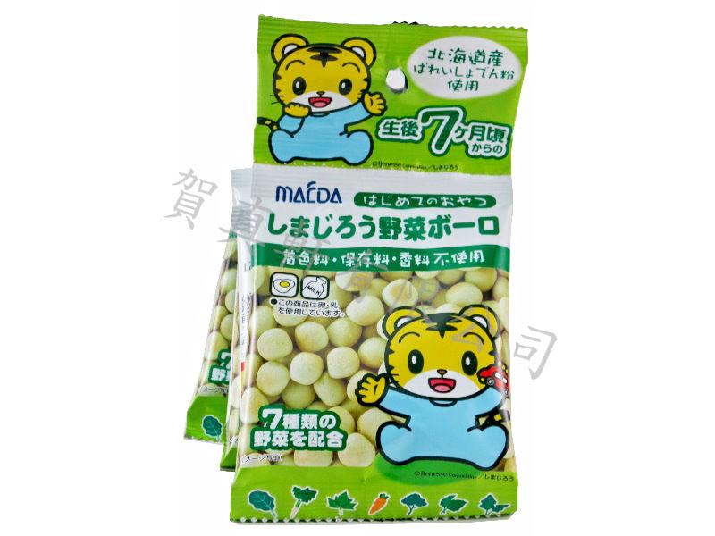 前田5連巧虎野菜蛋酥60g 306276