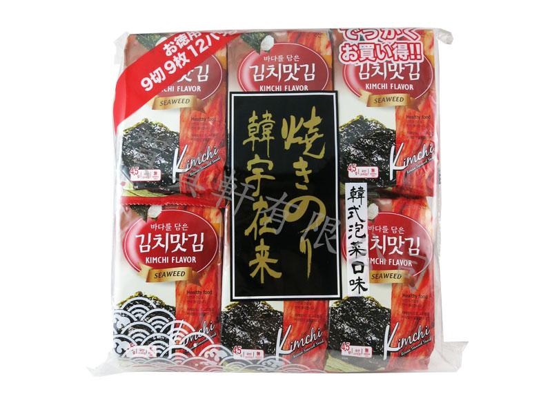 韓宇海苔量販包-韓式泡菜54g 461919