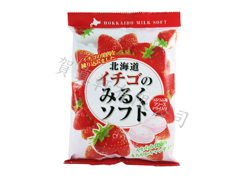 北海道牛奶糖–草莓300g400990