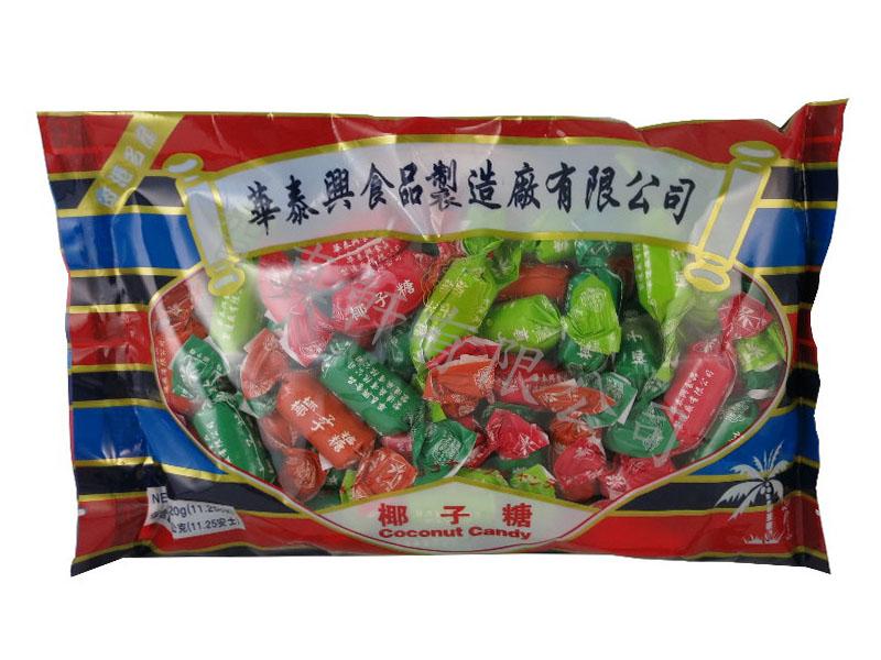 華泰興椰子糖320g 000015