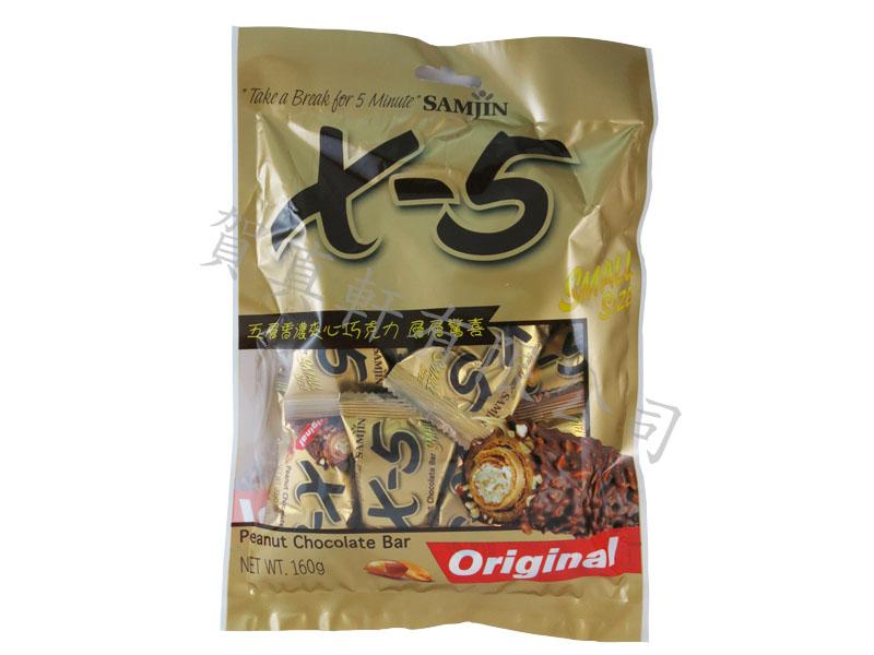 韓國X-5迷你巧克力捲心酥160g943094