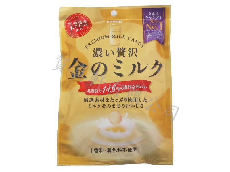 加農金色超濃牛奶糖80g013397