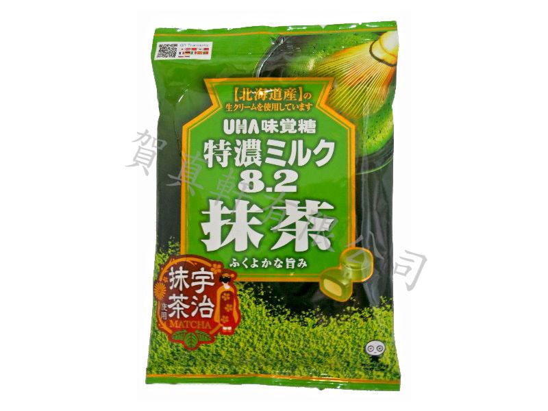 味覺特濃8.2牛奶袋糖84g-抹茶 894075