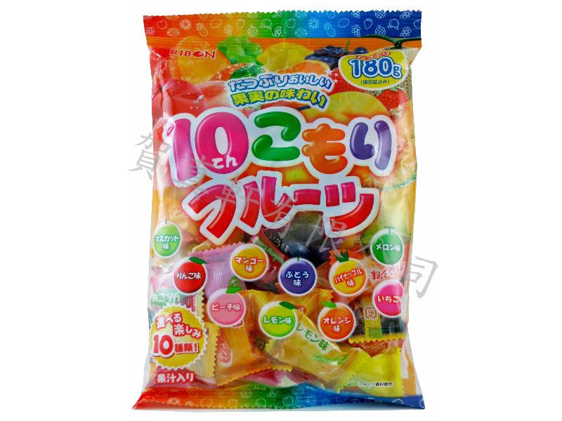 立夢10種水果糖180g 442068