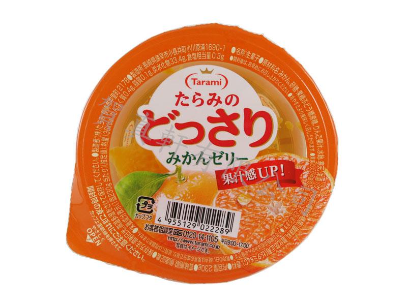 達樂美果凍杯-桔子230g 022289