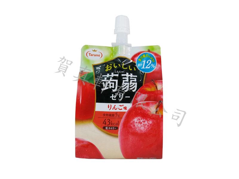 達樂美蒟蒻凍150g-蘋果 012761