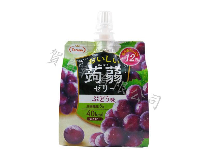 達樂美蒟蒻凍150g-葡萄 012754
