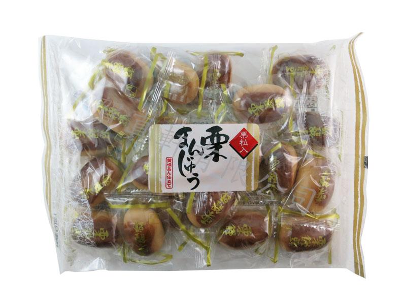 LAMAN茶穀饅頭栗子和果子380g 210280