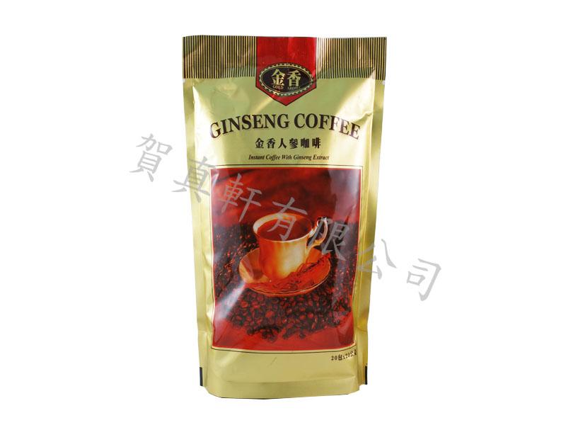 金獎人蔘咖啡(三合一)400g 521377