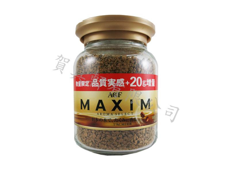 AGF炭燒咖啡罐80g+20g(增量) 362352