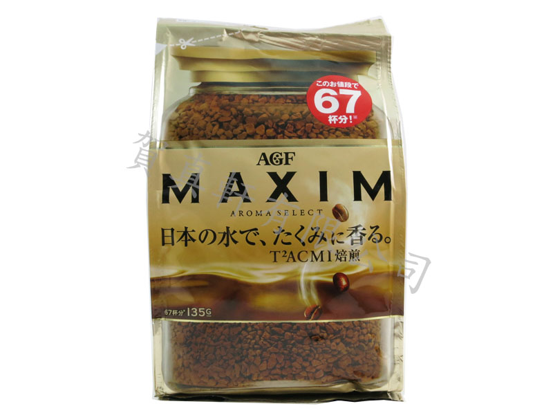 AGF咖啡立袋補充包135g 275218